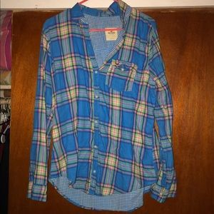 Hollister Plaid Shirt